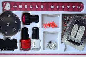 fun size beauty hello kitty kawaii nail art set hello kitty