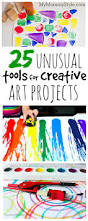 25 unusual tools for creative art projects arts pinterest