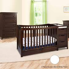 White Convertible Crib With Changing Table Changing Tables Graco Convertible Crib With Changing Table Graco
