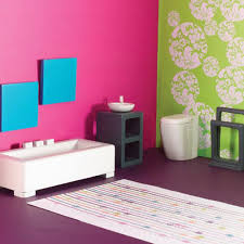 Funky Bathroom Ideas Bathroom Incredible Kids Bathroom Ideas And Nice Wall Stripes