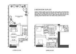 220 1000 sq ft 2 bdrm 1 12 bath duplex apartment plans blueprints