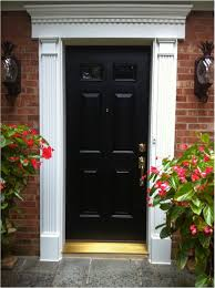 Exterior Door Casing Replacement Front Door Trim Images Provia Front Door And Fypon Trim