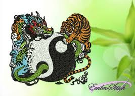 yin yang collection embroidery designs embrostitch
