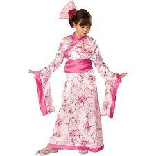 girl costumes child pink geisha girl costume costumeish cheap