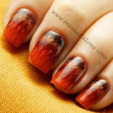 manic talons gel and nail thanksgiving needle