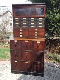 Globe Wernicke File Cabinet For Sale by Antique 1920 U0027s Globe Wernicke Sectional Bookcase File Cabinet