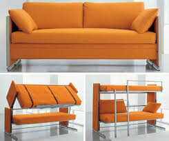 Sofa Bunk Bed Doc Transforms From Sofa To Bunk Beds With One Motion 6sqft