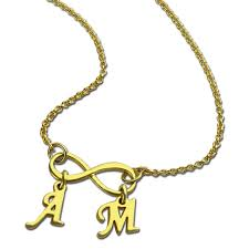 Personalized Family Necklace Aliexpress Com Buy Wholesale Gold Color Infinity Necklace With