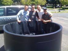 portable baptismal pools south bay church s new baptismal pool david hibiske s