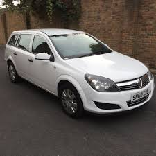 2010 vauxhall astra estate 1 3 cdti 60 plate frost white hpi
