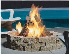 Gas Fire Pit Logs by Napoleon Patioflame Outdoor Gas Fire Pit With Logs