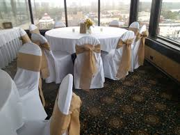 burlap chair covers white chair covers with burlap sash rustic wedding ideas