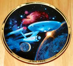25th anniversary plates u s s enterprise ncc 1701 trek collector plate from the