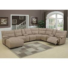 studded leather sectional sofa sofa microfiber sectional with chaise gray 8 regarding piece