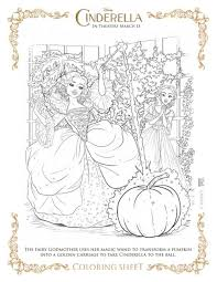 9 cinderella movie coloring sheets cinderella