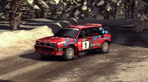 trally lancia delta red martini livery racedepartment