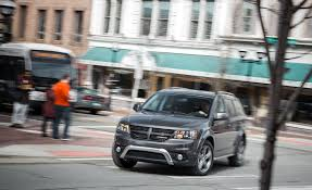 Dodge Journey Interior Space - 2018 dodge journey in depth model review car and driver