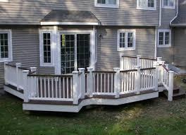 outdoor u0026 garden inviting raised patio deck design ideas picture