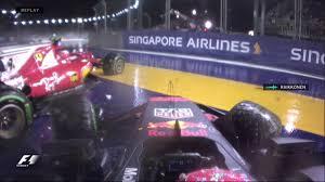formula 4 crash max verstappen sebastian vettel to blame for singapore gp crash