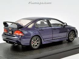 honda civic type r fd2 violet diecast model 1 43 car u0026bike