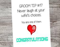wedding wishes humor wedding congratulations etsy