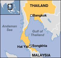 map of hat yai hat yai map