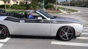 dodge charger convertible one dodge challenger convertible acceleration details