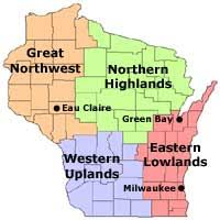 wisconsin scenic drives map wisconsin best scenic twisty roads for motorcyclists sports