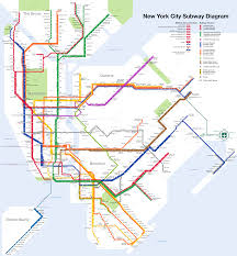 New York City Map Pdf New York City Subway