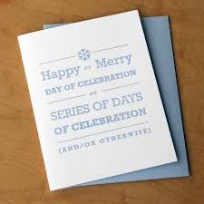 happy or merry all purpose card made