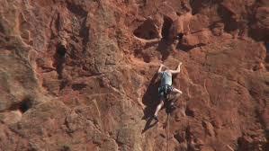 Rock Climbing Garden Of The Gods Rock Climbing In Garden Of The Gods Colorado Springs Stock