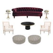 rosa luxe sofa rental in new york u2013 two of a kind furniture rentals