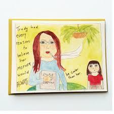 cool bohemian mom 70 u0027s mom birthday card u2013 tense and urgent