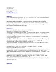 Sample Resume Objectives For Bookkeeper by Sample Resume Business Development Report Template