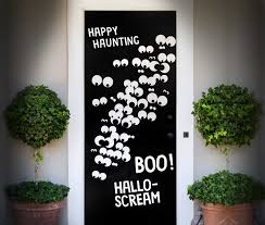 diy halloween front door cover ideas by fiskars