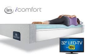 Serta Comfort Mattress Serta Icomfort Blue 100 Xt Mattresses Collection