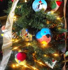 birdorable at festival of the trees in penguins holidays in the
