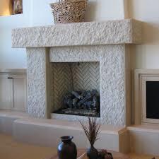 beautiful white stone fire place design ideas with brilliant