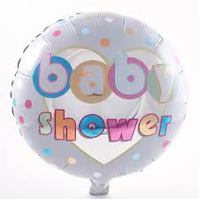 baby shower balloons baby shower foil helium balloon card factory