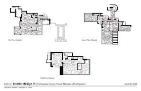 falling water floor plan image collections home fixtures