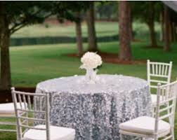 wedding linens for sale sale silver sequin tablecloth or table overlay sequence