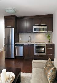 best picture of basement kitchen design with granite countertop