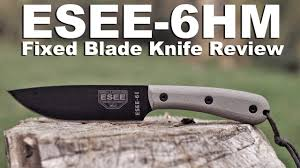esse 6 hm fixed blade knife review a bushcraft friendly 2017 esse 6 hm fixed blade knife review a bushcraft friendly 2017 update
