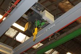overhead travelling gantry crane stahl electric hoist 5 ton with