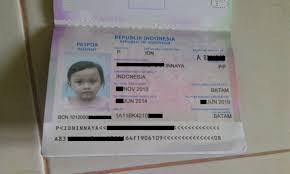 buat paspor online bayi membuat paspor di batam secara online mudah dan murah bag 2
