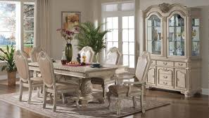 white formal dining room sets marvelous formal dining room decor halyn antique white set with