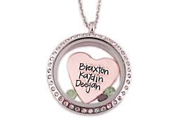 personalized photo lockets mixed metal personalized heart names locket at sweet blossom gifts