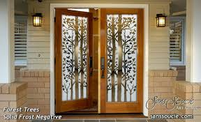 Frosted Glass Exterior Doors by Wonderful Exterior Entry Doors Exterior Door Gallery Wooden Door