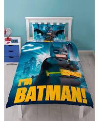 Lego Bedding Set Lego Batman Single Duvet Cover And Pillowcase Set