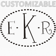 initial monograms personalized monogram decals monogram initial wall simple